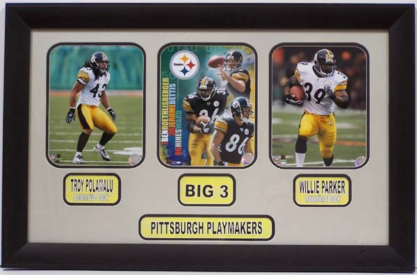 reputable site 4b83d 6148f Pittsburgh Steelers 2005 Memorabilia Includes Three 8