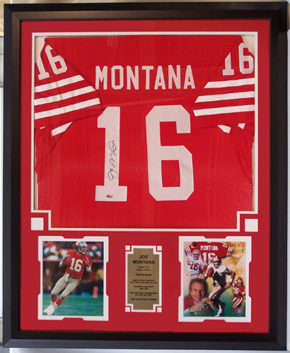 more photos 74e5a 93334 Joe Montana Autographed San FrancIsco 49ers Home Jersey ...