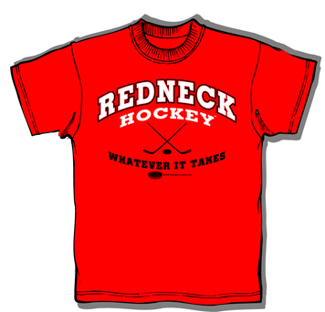 Redneck Hockey t-shirt
