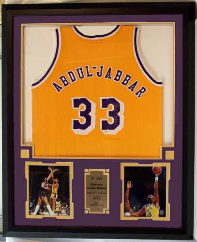 Kareem Abdul Jabbar Autographed Los Angeles Lakers Home Jersey ...