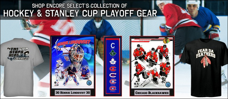 Stanley Cup Playoff Hockey Shirts and Collectibles
