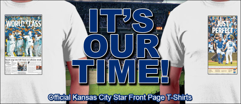 The Official Kansas City Star Front Page Tee Shirt